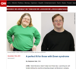 CNN A Perfect Fit - Special Needs Clothing