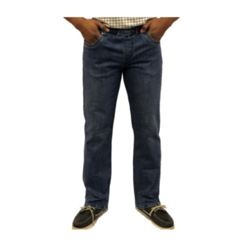 NBZ Mens Stretch Jeans Imperial Blue