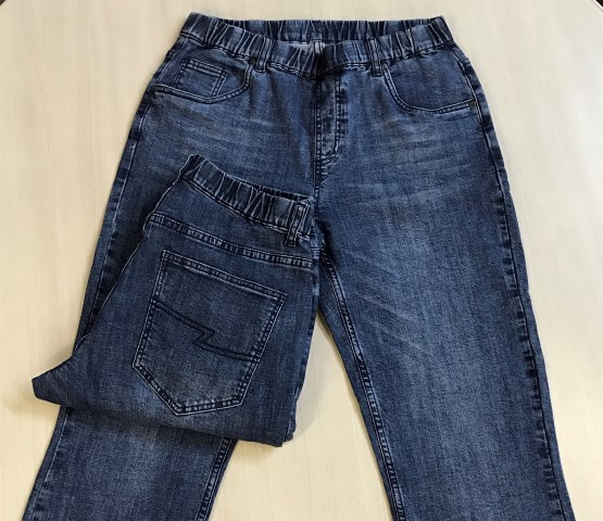 195c94fea6 Mens Full Elastic Waist Jeans - Jeans Without Buttons - NBZ Apparel