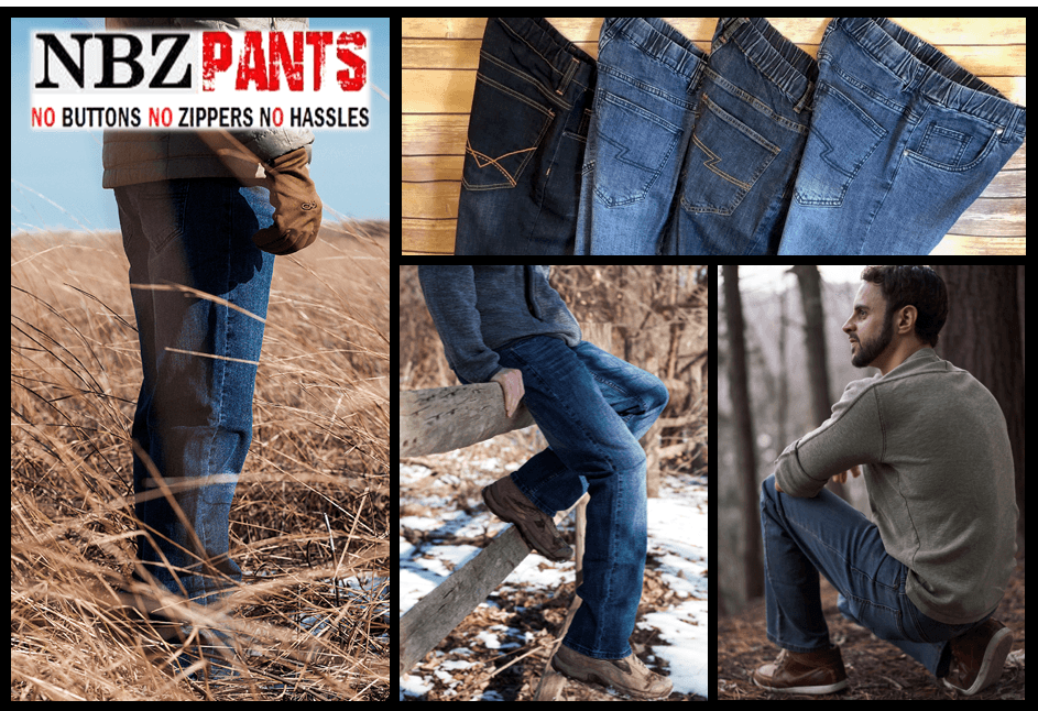 Elastic Waist Pants for Men