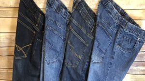NBZ Elastic Waist Stretch Jeans
