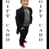 Downs Designs Brand Boys Gift Card