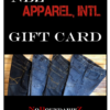 NBZ Apparel Gift Card Adaptive Clothing