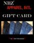 NBZ Apparel Gift Card Adaptive Clothing