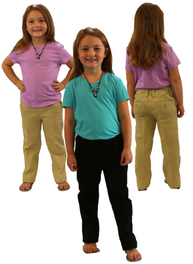 Kids Dress and Khaki Pants