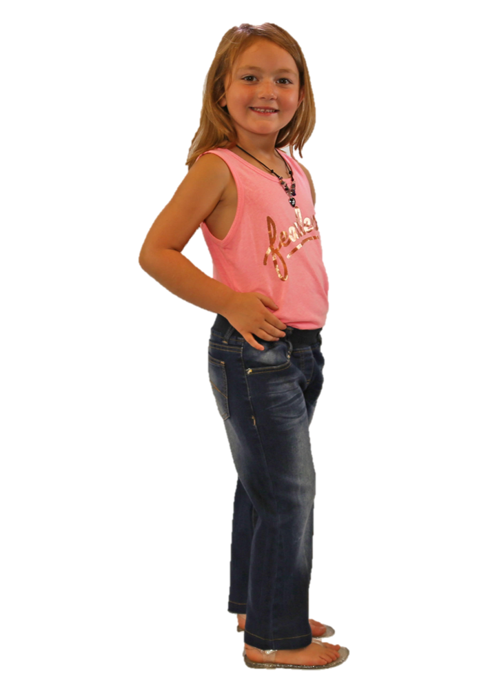 Elastic Waist Jeans for Kids
